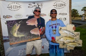 Cody Chivas and Chris Cenci 1st Place 2013 Salty Fly Tournament