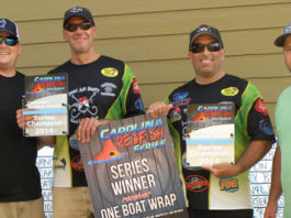 Carolina Redfish Series Event 3 – The Redfish Guys Win The Team Of The Year Title