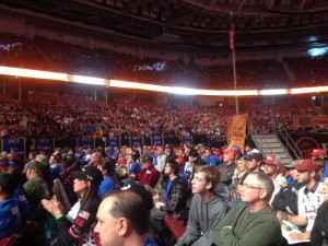 Bassmaster Classic Weigh in Crowd