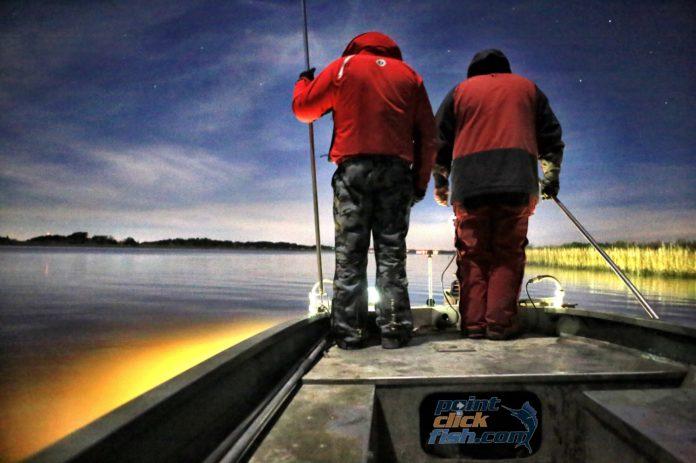 North Carolina Flounder Gigging