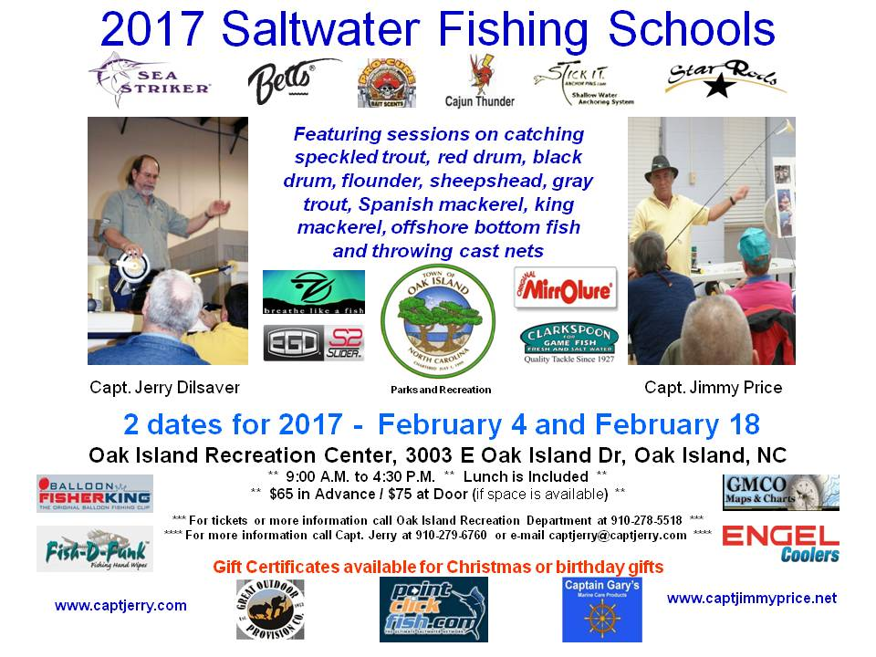 Oak Island North Carolina Recreation Department Offers Saltwater Fishing School