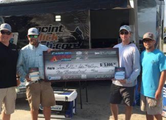 Team Smokey Burnout Wins 2015 Carolina Redfish Series Event 2