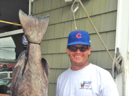 Breece Gahl - 47 pound, 6 ounce NC State Record gag grouper