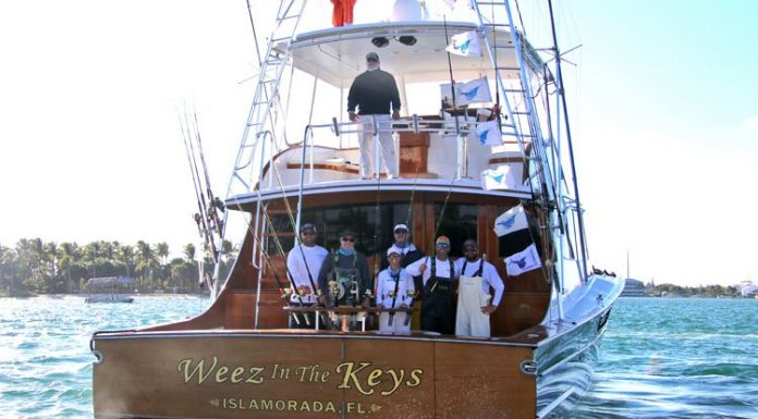 Weez in the Keys Wins Operation Sailfish Tournament