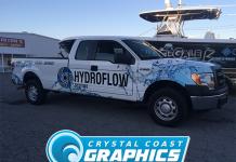 Partial Vehicle Wraps - Crystal Coast Graphics