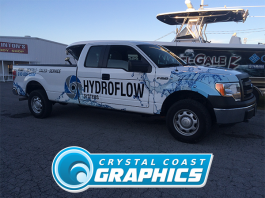 Partial Vehicle Wraps - Crystal Coast Graphics