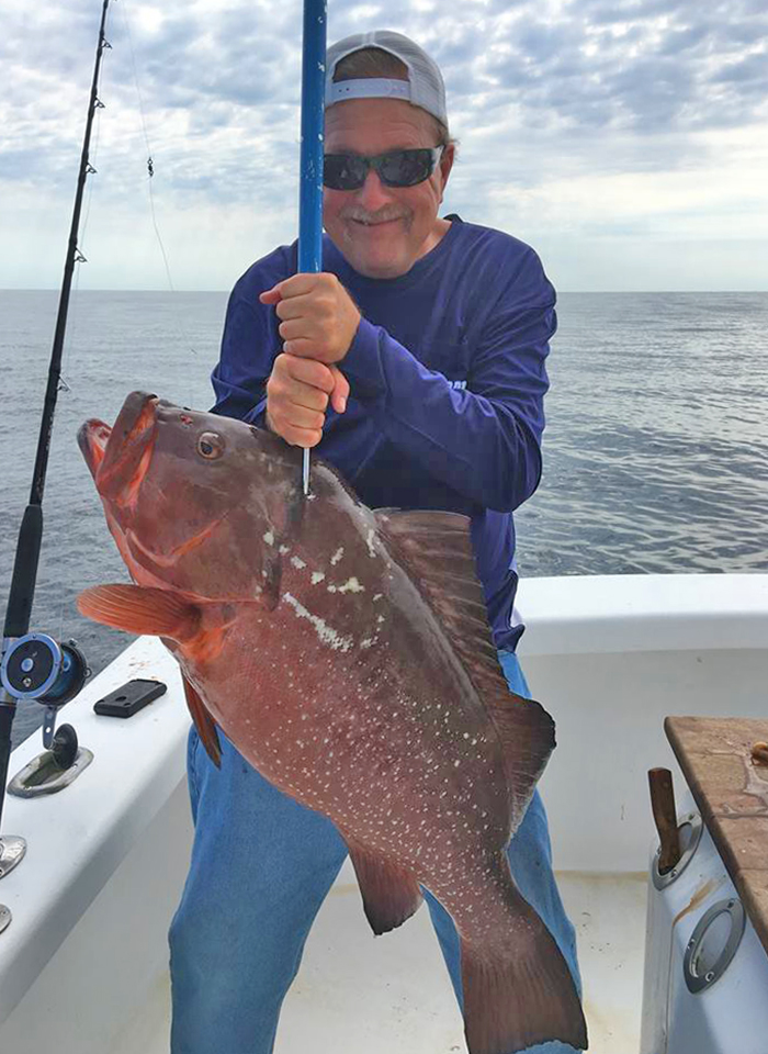 Fisherman Catches Nc State Red Grouper Record