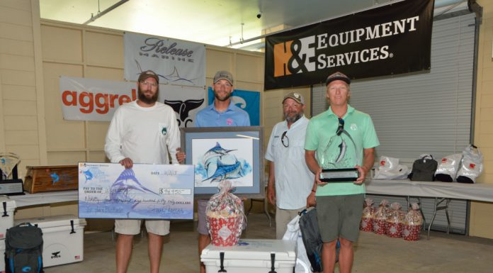 1st Place Blue Marlin-Wynsong