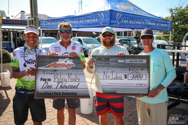 2018 CRE Day 2 SCB - Shallow Sport Small Fish Award -