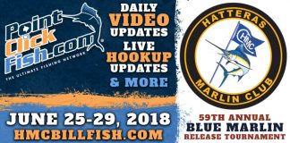 2018 Hatteras Marlin Club Blue Marlin Tournament