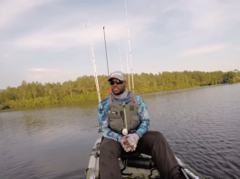 John Deshauteurs shares how to stay safe on the water and how we need to be aware of hooks while kayak fishing.