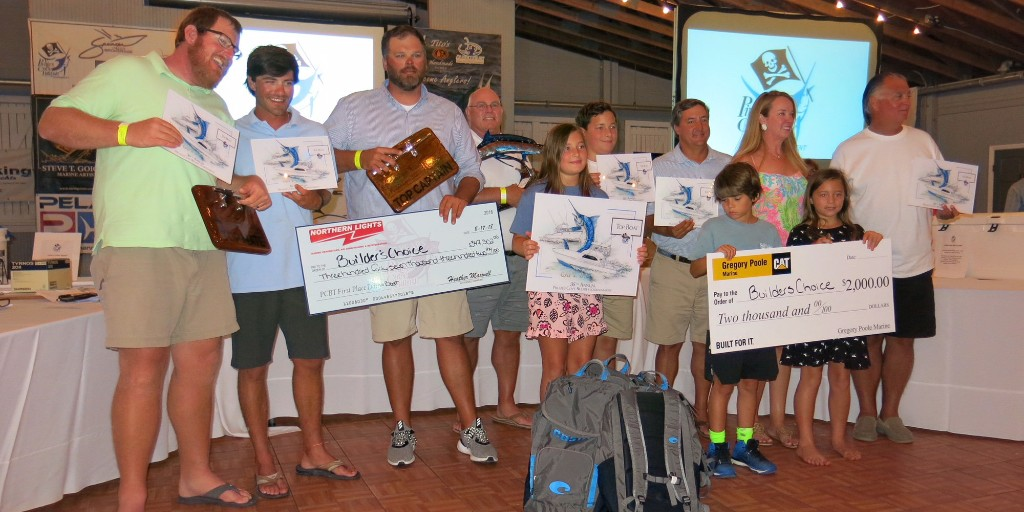 Builder's Choice Wins Pirate's Cove Tournament