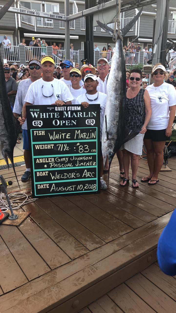 2018 White Marlin Open - Weldors Ark