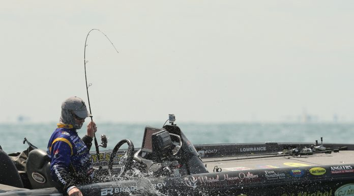 Bradley Roy of Lancaster, Ky., will be among a full field of 107 anglers vying for the $100,000 first-place prize and last chance to earn valuable Toyota Bassmaster Angler of the Year points at the 2018 Huk Bassmaster Elite at St. Lawrence River presented by Black Velvet Aug. 23-26 out of Waddington, N.Y. Roy is currently leading the race with 617 points.