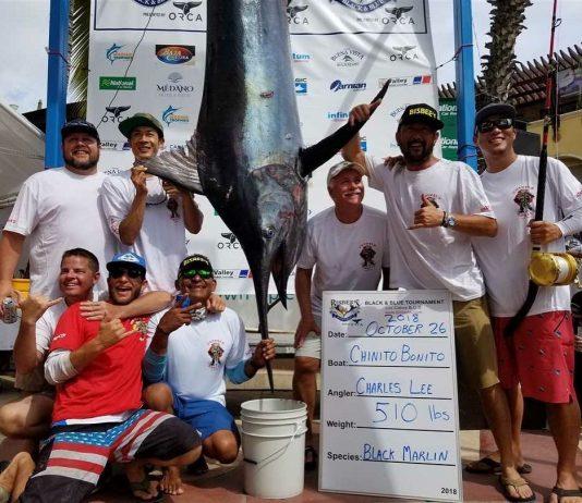 Team Chinito Bonito WINS 2018 Bisbee's Black & Blue Marlin Tournament