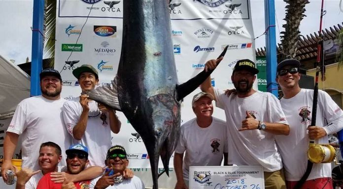 Team Chinito Bonito WINS 2018 Bisbee's Black & Blue Marlin Tournament