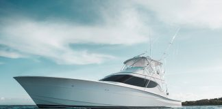 Tour the Hatteras GT54 at the Fort Lauderdale International Boat Show