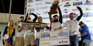 King of the Beach 2018 Fall Winners-Team Reelentless