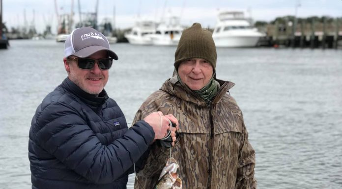 Charleston SC Fishing Report December
