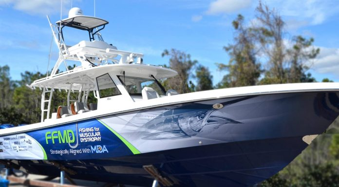 Fishing for Muscular Dystrophy Unveils New Ride For 2019