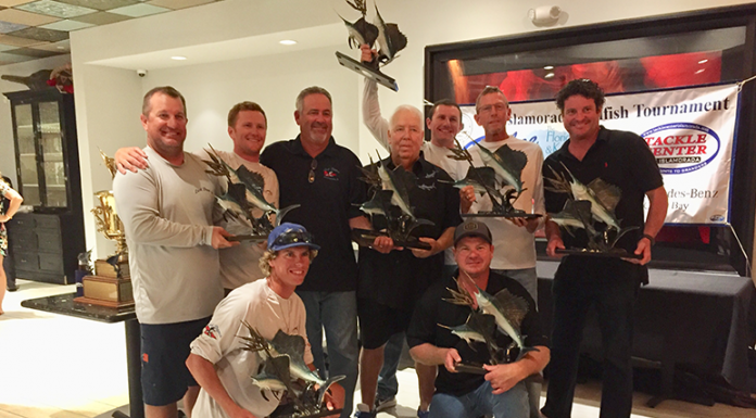 LAST DANCE Wins 55th Annual Islamorada Sailfish Tournament