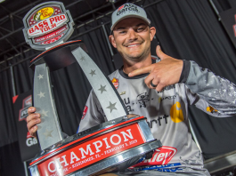 Jordan Lee can add a Bass Pro Tour trophy to his already-impressive list of major wins. Photo by Garrick DixonJordan Lee can add a Bass Pro Tour trophy to his already-impressive list of major wins. Photo by Garrick Dixon