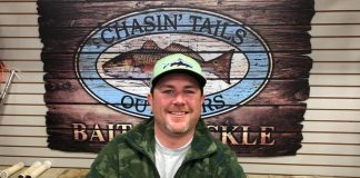 1st Ricky Baker 7.60 lbs- Chasin Tails Speckeld Trout Challenge