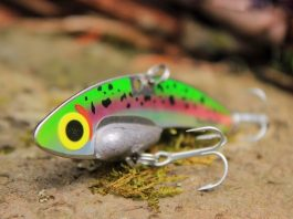 Heavy metal for cold water bass - BladeBait