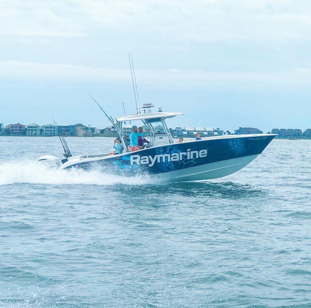 Hooked Up Fishing Team - Raymarine - SiriusXM Marine