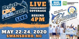 2020 Swansboro Bluewater Tournament