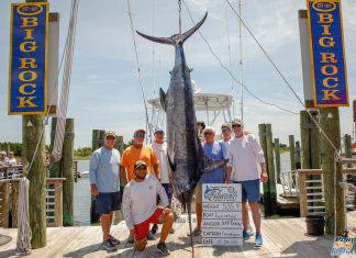 Inspiration Sportfishing Blue Marin Weigh-in - Swansboro Rotary Bluewater