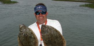 Capt. Noah Lynk - pair of nice flounder