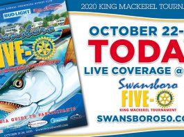 Swansboro 50 King Mackerel Tournament Live Stream