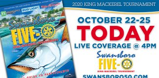 Swansboro 50 King Mackerel Tournament Live Stream